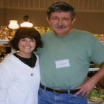 Glen and Carolyn Robionson of White rose Glassware